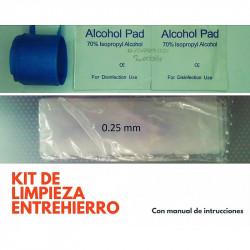 "Kit de limpieza para Iman/entrehierro ""Clean is good"""