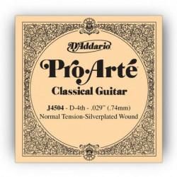 Cuerda Daddario guitarra Española J4504