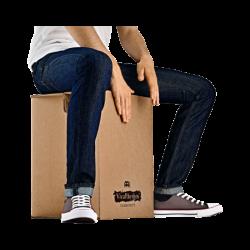 Cajón Flamenco transportable en cartón VR-CAJ2GO