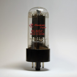 VALVULA 6L6GCR SHUGUAND ELECTRON