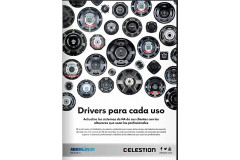 Publicacion ISP Audio &Light Magazine Celestion /Iberloud
